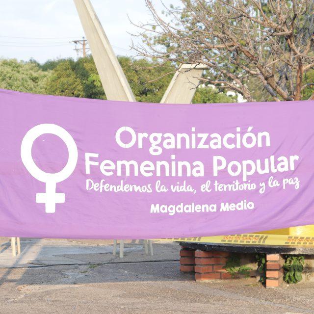 Manifiesto para el 8 de marzo del 2021, Organización Femenina Popular